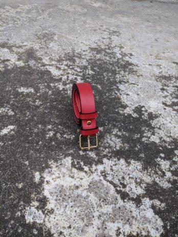 Ceinture rouge – Largeur 30 mm