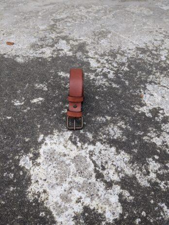 Ceinture marron clair – Largeur 30 mm